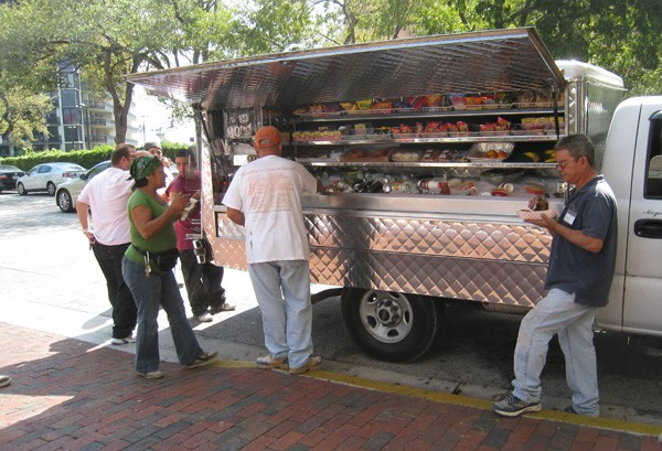 Food Truck Route
