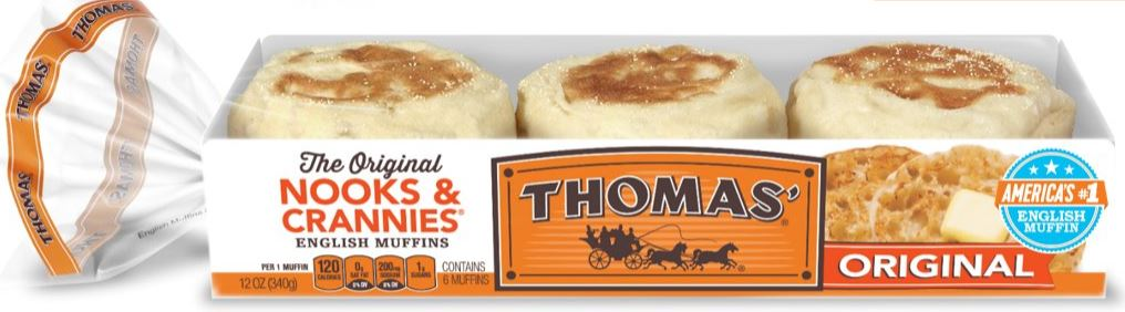 Arnold & Thomas English Muffin Route